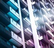 Contemporary skyscraper, colorful concept Stock Photo