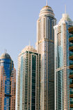 Contemporary skyscrapers in Dubai Stock Photography