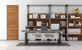 Contemporary small office Stock Image