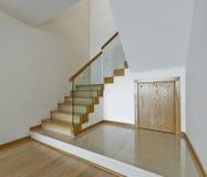 Contemporary stair case Royalty Free Stock Photos