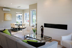 Free Contemporary Style Living Room Royalty Free Stock Image - 93296606