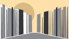 Contemporary Urban Landscape Royalty Free Stock Image