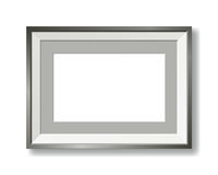 Contemporary vector picture frame Royalty Free Stock Photography