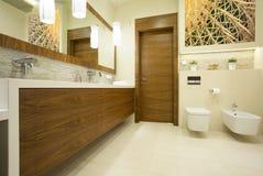 Contemporary washroom Royalty Free Stock Photography