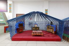 Skeleton structure of yurt, adobe rgb royalty free stock photos