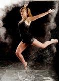 Contemporary ballet jump Royalty Free Stock Photo