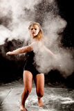 Contemporary dance performance Stock Images