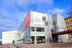 Contempory Art Museum Kiasma i Helsingfors Royaltyfria Bilder