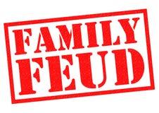 Contenda da família ilustração do vetor