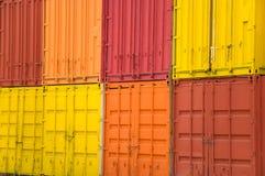 Contenedor para mercancías Foto de archivo libre de regalías