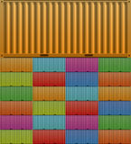 Contenedor para mercancías Imágenes de archivo libres de regalías