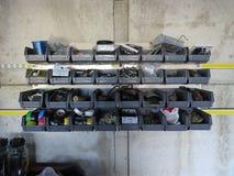 Contenedores de almacenamiento Fotografía de archivo