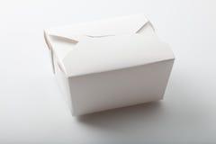 Conteneur à emporter de nourriture asiatique Photographie stock libre de droits
