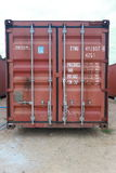 conteneur Images stock