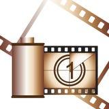 Conteneur de film Photos stock