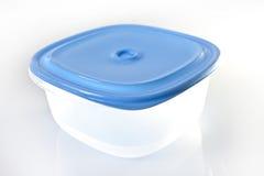 Conteneur de nourriture en plastique vide Photographie stock