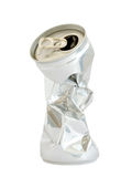 Conteneur en aluminium de boissons Photographie stock libre de droits