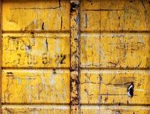 Conteneur en métal Photographie stock libre de droits