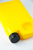 Conteneur jaune Image libre de droits