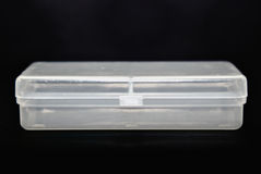 Conteneur transparent Images stock