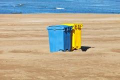 Conteneurs d'ordures Photo libre de droits