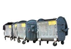 Conteneurs d'ordures Images libres de droits