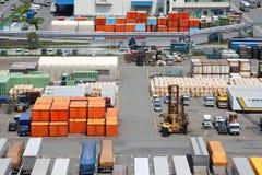 Conteneurs de cargaison Photos stock