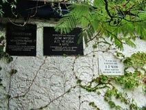 Contenga el donante del gran escritor ruso Chekhov en Crimea Fotos de archivo libres de regalías