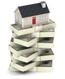 Contenga la hipoteca stock de ilustración