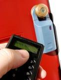 Contenitore & periferico di serratura del bene immobile Fotografia Stock