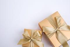 Contenitore attuale di regali Immagini Stock Libere da Diritti