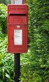 Contenitore britannico di alberino fotografie stock libere da diritti