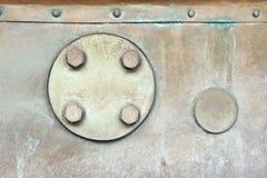 Contenitore del metallo Fotografie Stock Libere da Diritti