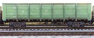Contenitore del treno del carico Fotografia Stock