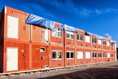 Contenitore della casa mobile Fotografia Stock
