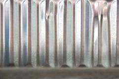 Contenitore di alluminio di struttura Fotografie Stock Libere da Diritti