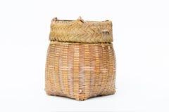 """Contenitore di bambù """"di Kratip"""" Fotografia Stock Libera da Diritti"""