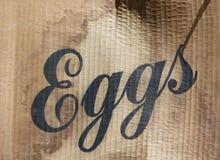 Contenitore di cartone dell'uovo Immagine Stock Libera da Diritti