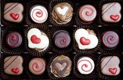 Contenitore di cioccolato Fotografia Stock Libera da Diritti