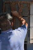 Contenitore di collegamenti del telefono dell'ingegnere Immagine Stock Libera da Diritti