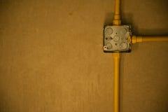 Contenitore di condotto sul soffitto fotografia stock libera da diritti