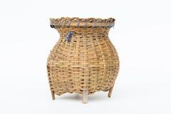 'contenitore di creel'bamboo Immagine Stock
