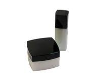 Contenitore di crema per le mani Fotografia Stock
