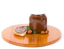 Contenitore di diffusione del cioccolato fotografie stock