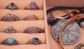 Contenitore di gioielli Immagini Stock