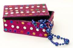 Contenitore di gioielli Fotografia Stock