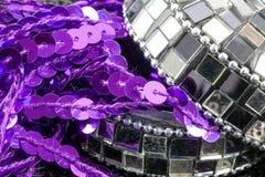 Contenitore di gioielli del mosaico Fotografia Stock