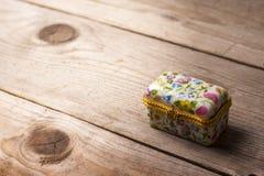 Contenitore di gioielli di sorpresa Fotografia Stock