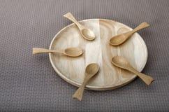 Contenitore di legno Immagini Stock