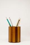 Contenitore di matita Fotografie Stock